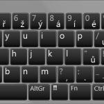 Česká QWERTY klávesnice